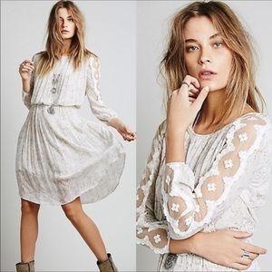 Free People Charlotte Midi Dress